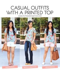 Casual Statement Tops: Why You Need Some!