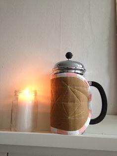 Bodum Coffee coat. Made by Rikke Svendsen.