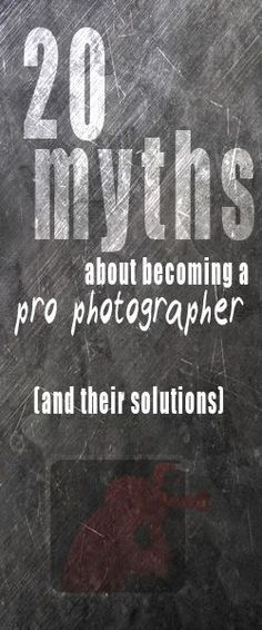 . I found website with best way to #learn #photography here: http://photography-tips.ninja . 20 myths about becoming a pro photographer (and their solutions). Very handy article!