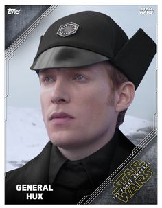 """bb-8poe: """" General Hux, Topps Trading cards app, Star Wars Portrait Series """""""