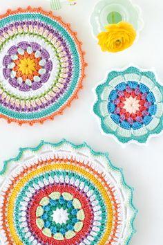 Crochet mandala free patterns by crochetconscupiscence