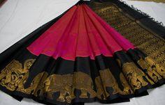 Indian Silk Sarees, Pure Silk Sarees, Cotton Saree, Indian Clothes, Indian Outfits, Saree Color Combinations, Bengali Culture, Kalamkari Saree, Saree Blouse Patterns