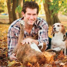 animal lover by day, ass kicker by night! David Backes -  captain of the St Louis Blues.