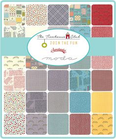 Moda The Treehouse Club Fabric Collection