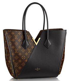 Louis Vuitton Monogram Canvas KIMONO Bag M40460 Noir