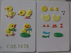 Duck Family (2) Col 1428 - Marianne Design