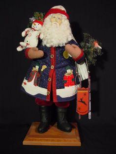 Lynn Haney Collection Christmas Santa 1057 Year 1997 Let It Snow Let It Snow | eBay
