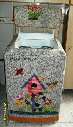 capa para maquina de lavar tutorial - Buscar con Google
