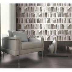 Papier Peint - Biblio Moderne