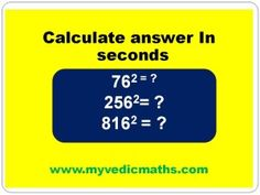 Square of numbers ending with  6