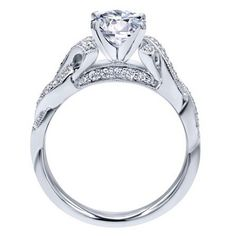 "Ben Garelick Royal Celebration ""Juliet"" Diamond Twist Engagement Ring · ER10434W44JJ · Ben Garelick Jewelers"