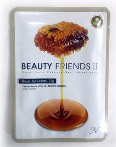 로얄제리 마스크팩(Royal jelly)  로얄제리 추출물이 거칠어진 피부에 영양을 공급하여 깨끗한 피부에 도움을 줍니다.