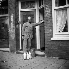 Melkboer Amsterdam 1953