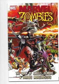 Marvel Zombies One-Shot Book Of Angels, Demons & Various Monstrosities Comic NM