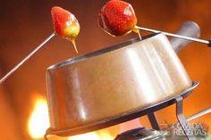 Receita de Fondue de caramelo em receitas de doces e sobremesas, veja essa e outras receitas aqui!