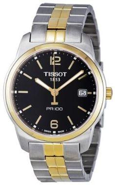 Tissot Mens T049.410.22.057.01 Black Dial Watch