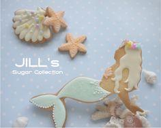 Mermaid cookies // Jill sugar Collection