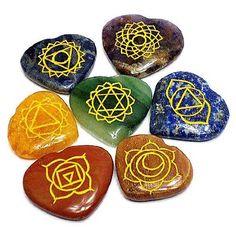 Piedras, gemas y cristales relacionados con los Chakras - Guia Sana