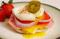 This looks amazing! Low-Cal Satisfying Poached Egg Dinner