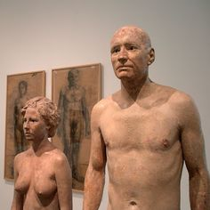 Couples et duos chez Antonio López García Spanish Painters, Contemporary Sculpture, Mark Rothko, Life Drawing, New Media, Sculpting, Street Art, Fine Art, Couples