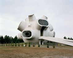Abandoned WWII memorials, Former Yugoslavia. Wish this one had shots of the interior.