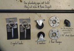 DIY Sliding Barn Door---------------( for the red barn sliding door pin )