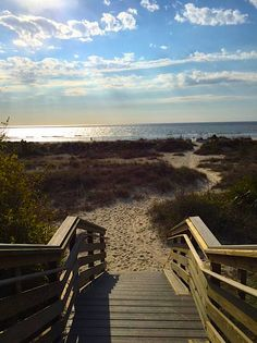 The path to happiness is the path to the beach!