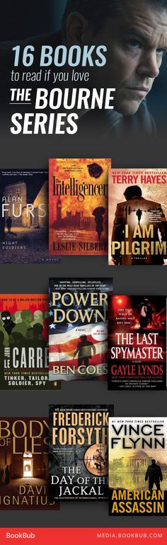 16 books to read if you love the Bourne series, including books by Ken Follett and Tom Clancy.