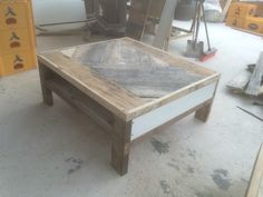 Le pallet modern coffee table  made by Oliver Jones Designz   Check my fb page Oliver Jones Designz