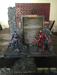 Marvel Legends X-MEN/civil War/Custom Diorama