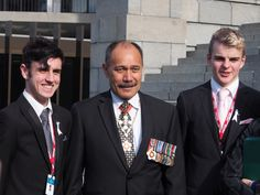 Jaye Everett and Patrick Saville with the Governor General