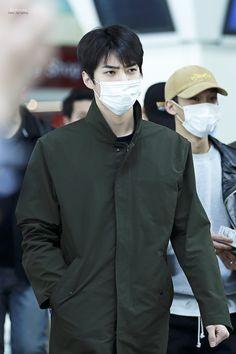 160306 EXO Sehun | Dalian Airport to Incheon