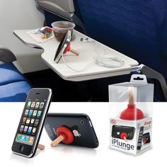 iPlunge to keep your devices upright.