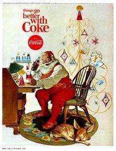 Sundblom - Things go better with Coke