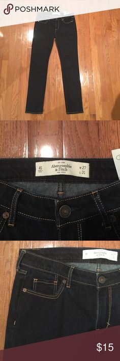 ✨ jeans ✨ Worn once or twice. Make an offer or bundle and save! I accept most offers :) Abercrombie & Fitch Jeans