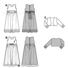 moldes de vestidos gratis - Buscar con Google