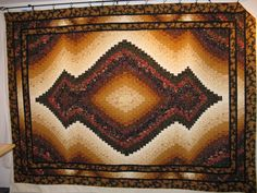 Country Garden Quiltworks: Oriental Carpet Bargello Quilt called Arabian Nights