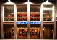 """The Abbey Theatre #travel """"Photo by TurnipseedTravel.com"""""""