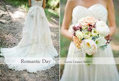 New 2014 Ivory Pleat Bow sweetheart chapel Train A-Line Chiffon wedding dress/beach Wedding dress/summer Wedding dress/Handmade Dresses