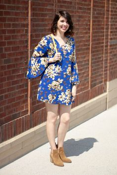 Floral Bell Sleeves | Greta Hollar