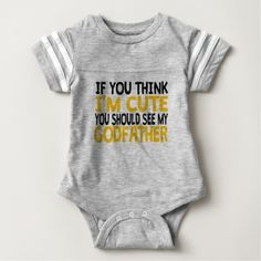 You Should See My Godfather Infant Bodysuit