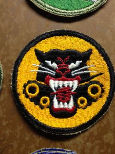 Various military patches by IndySQUARED