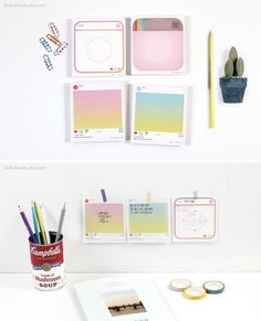 Home Office Supplies List New York Printing Videos Projects Posts Cute Office Supplies, Office And School Supplies, Lyna Youtube, Bebidas Do Starbucks, Scrapbook Organization, Craft Organization, Diy Scrapbook, School Stationery, Stationery Items