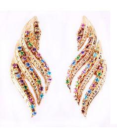 simple yet unique PIETRA earrings Bangles, Bracelets, Statement Earrings, Crown, Simple, Unique, Jewelry, Corona, Jewlery