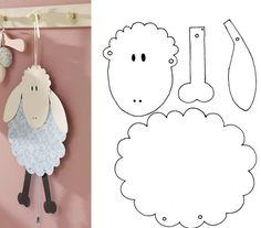Craft Fairs, Toddlers, Baby, Crafts, Sheep, Easter, Deko, Autumn, Children