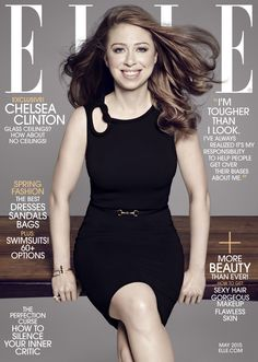 EXCLUSIVE: Chelsea Clinton Opens Up About Motherhood and Women's Rights   - ELLE.com