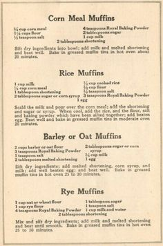 1920's muffins                                                                                                                                                     Más
