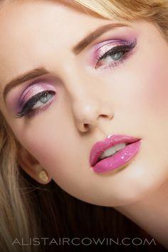 Studio beauty shoot for Holly's Portfolio.  Makeup and Hair: Chloe Bradley