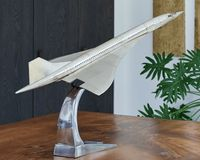 Large Aluminum Concorde Model Aircraft Airplane Decor, Concorde, Aircraft, Model, Aviation, Scale Model, Planes, Models