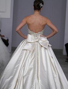 Back of a Pnina Tornai dress.
